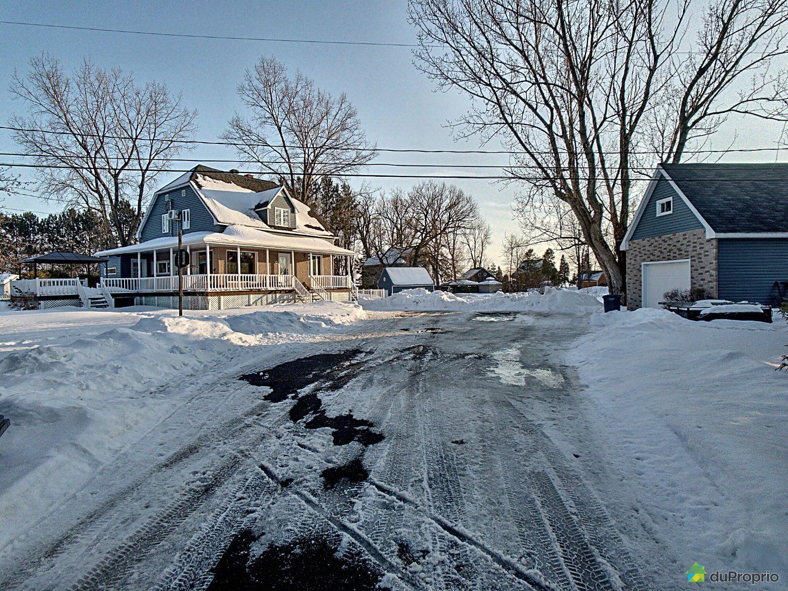 Winter Front - 12845 rue Notre-Dame Ouest, Trois-Rivières (Pointe-Du-Lac) for sale