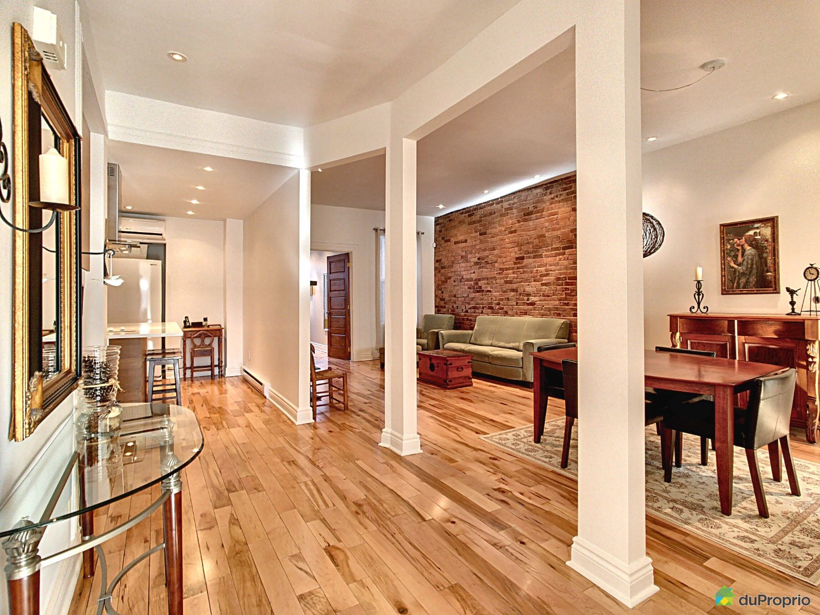 Dining Room / Living Room - 3999 rue de Mentana, Le Plateau-Mont-Royal for sale