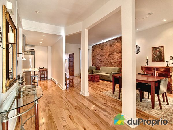 Dining Room / Living Room - 3999 rue de Mentana, Le Plateau-Mont-Royal for sale