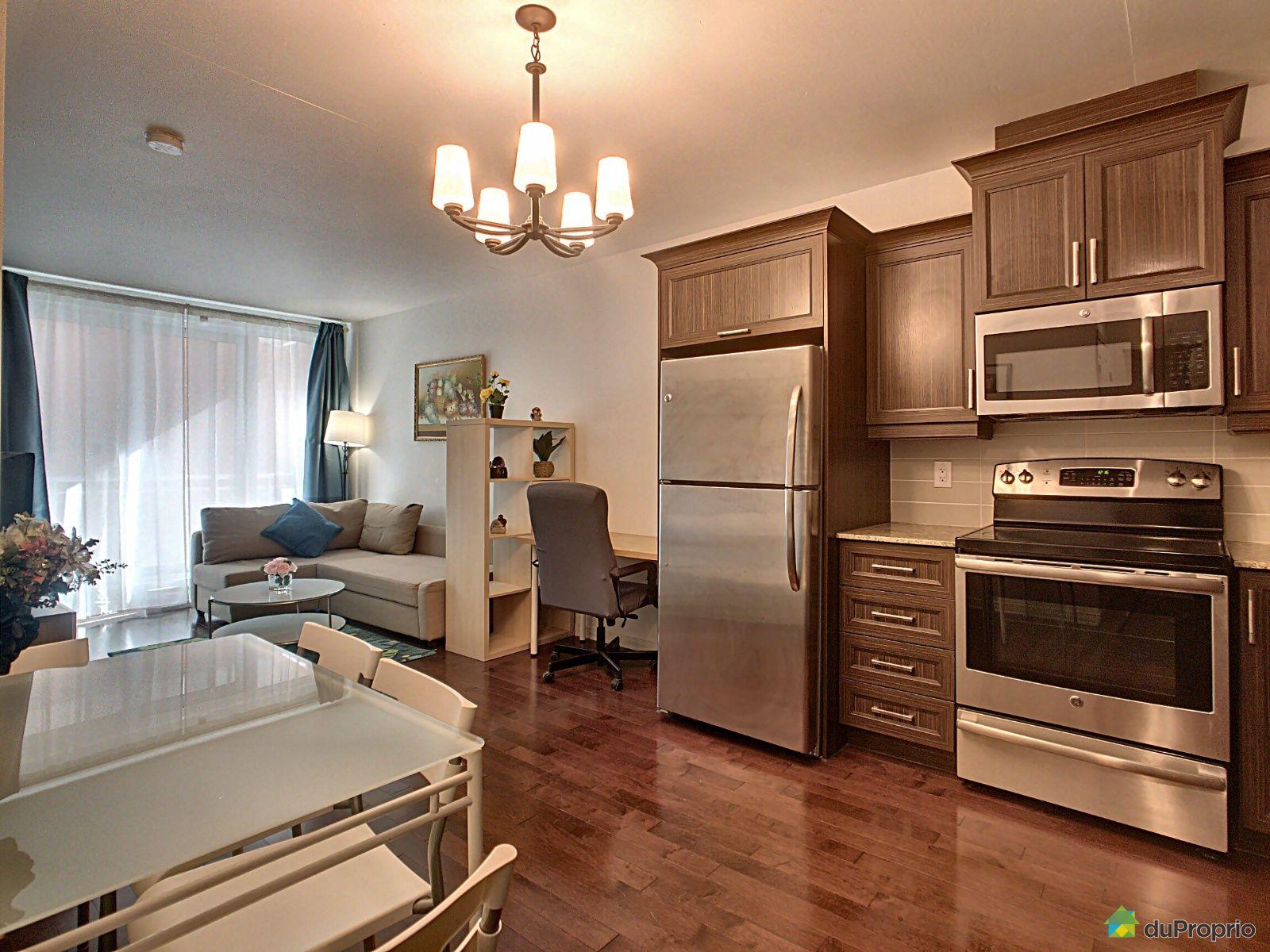 Apartment Living Room - 407-1235 rue Bishop, Ville-Marie (Centre-Ville et Vieux Mtl) for sale