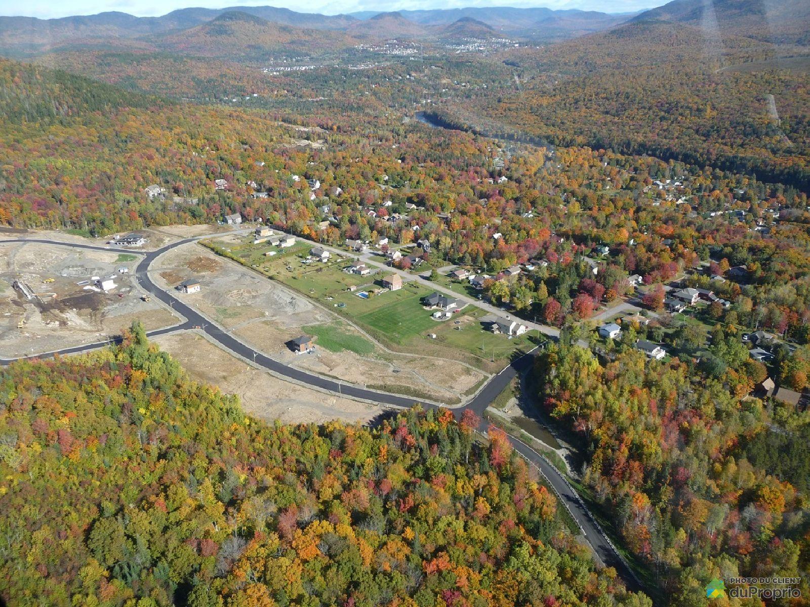 Aerial View - rue des Hautes-Terres, Beauport for sale