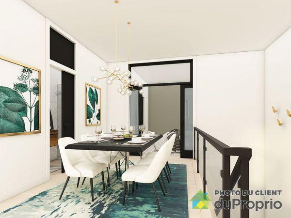 Salle à manger - 104-3420, rue Sainte-Catherine Est - Par Habitat DF, Mercier / Hochelaga / Maisonneuve à vendre