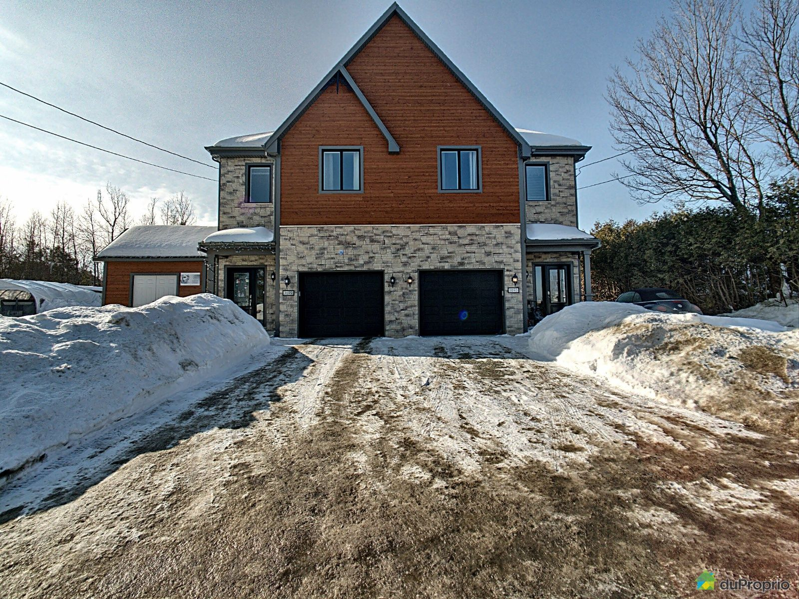 Winter Front - 3699 rue Fernand-Bachand, Sherbrooke (Rock Forest) for sale
