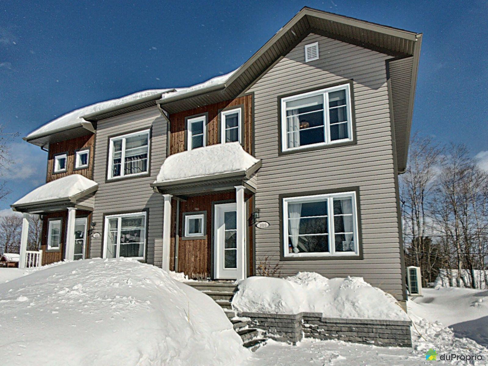 Winter Front - 1010 rue des Ébénistes, Val-Bélair for sale