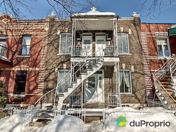 Winter Front - 6433-6437, 3e Avenue, Rosemont / La Petite Patrie for sale