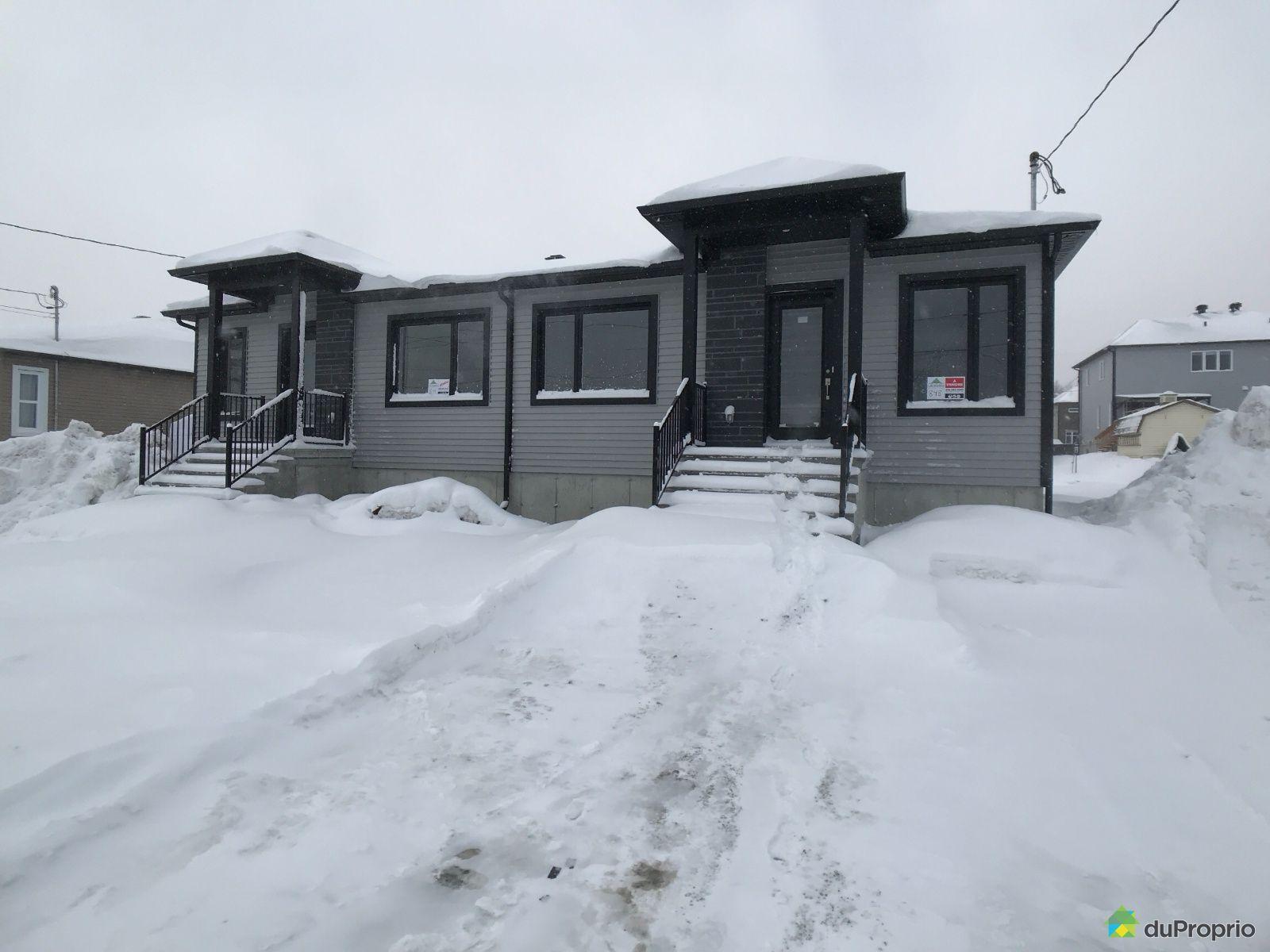 848 rue d'Hochelaga - Modèle Brossard 2 - Cité de la Tour- Par Les Entreprises Lachance, Sherbrooke (Rock Forest) for sale