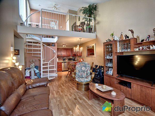 Living / Dining Room - 313-318 rue du Bosquet, Rimouski (Rimouski) for sale