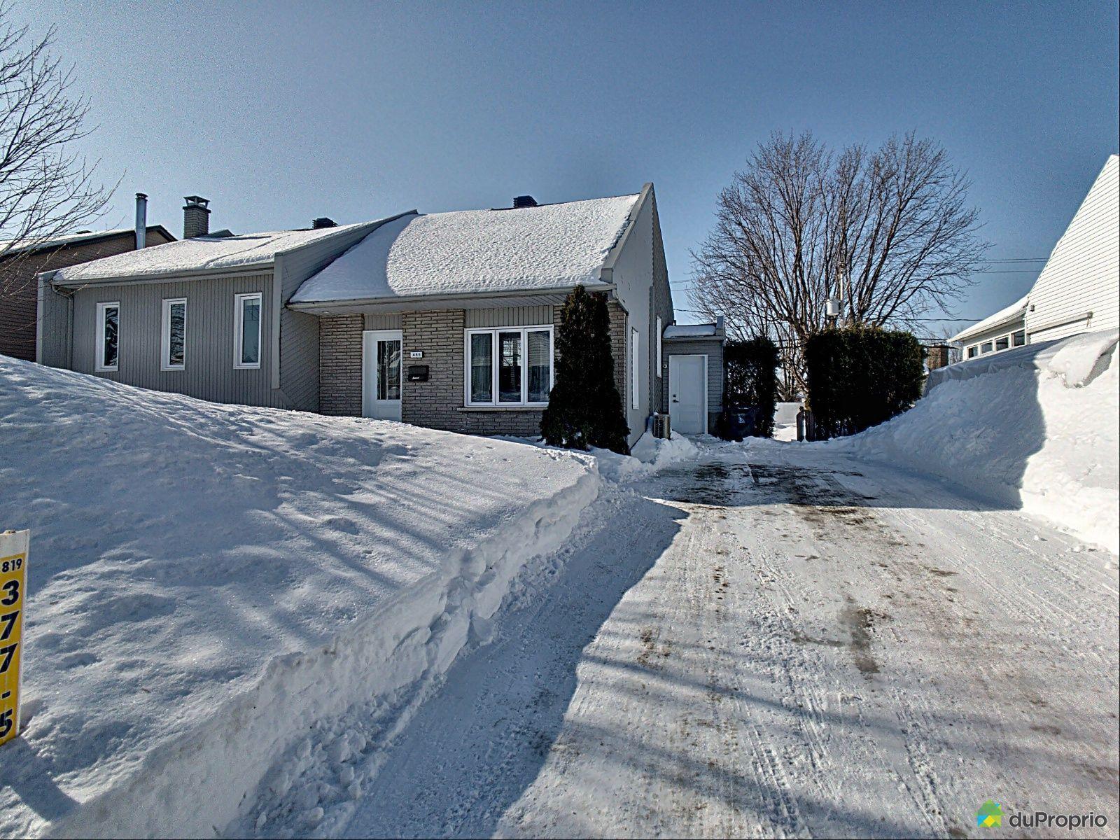 Winter Front - 455 rue Lemay, Trois-Rivières (Trois-Rivières-Ouest) for sale
