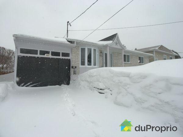 467, rue Julien, Trois-Rivières (Cap-De-La-Madeleine) à vendre
