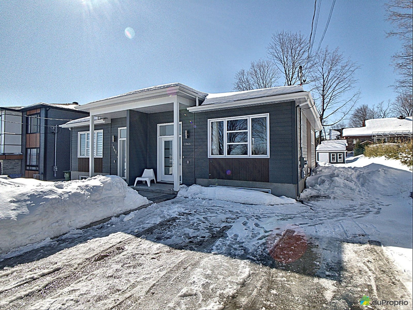 Winter Front - 1966 rue Alfred-Cloutier, St-Émile for sale