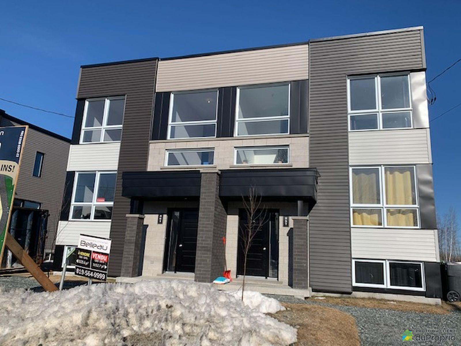 861 rue Henri IV - Cité de la tour - Par les Constructions Christian Belleau, Sherbrooke (Rock Forest) for sale