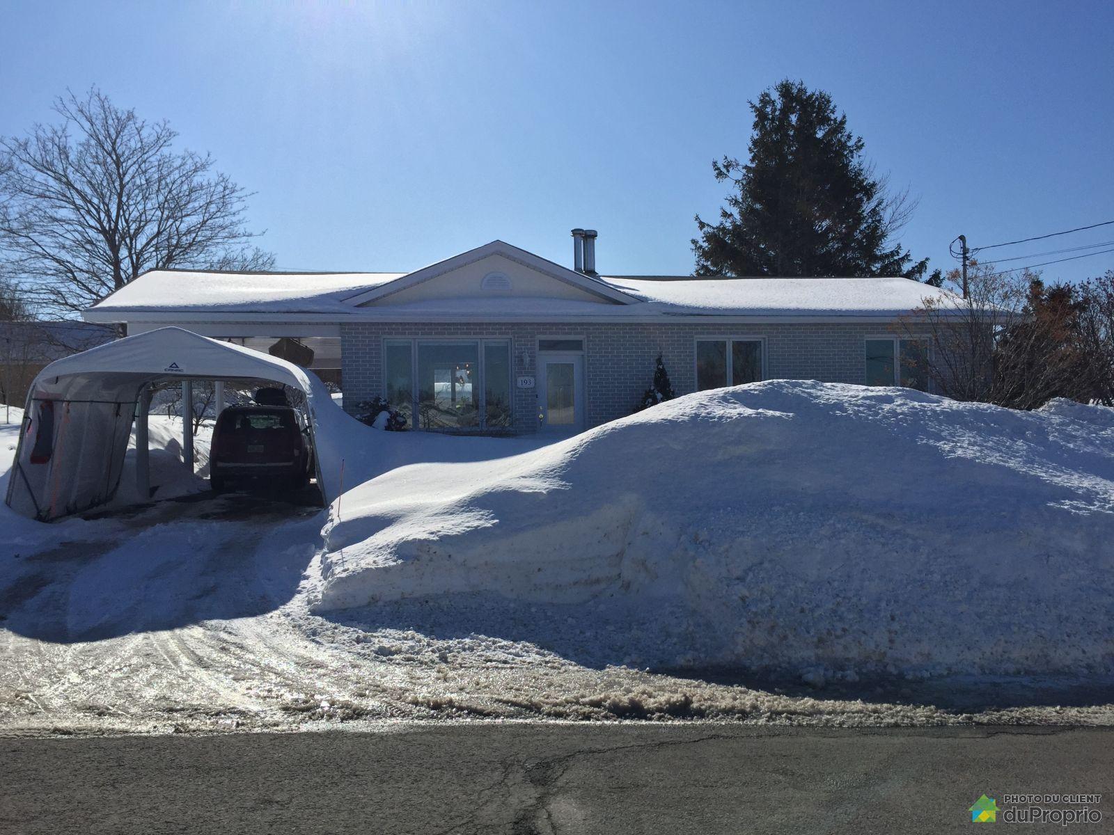 Winter Front - 193 rue Lauzier, Rimouski (Rimouski) for sale