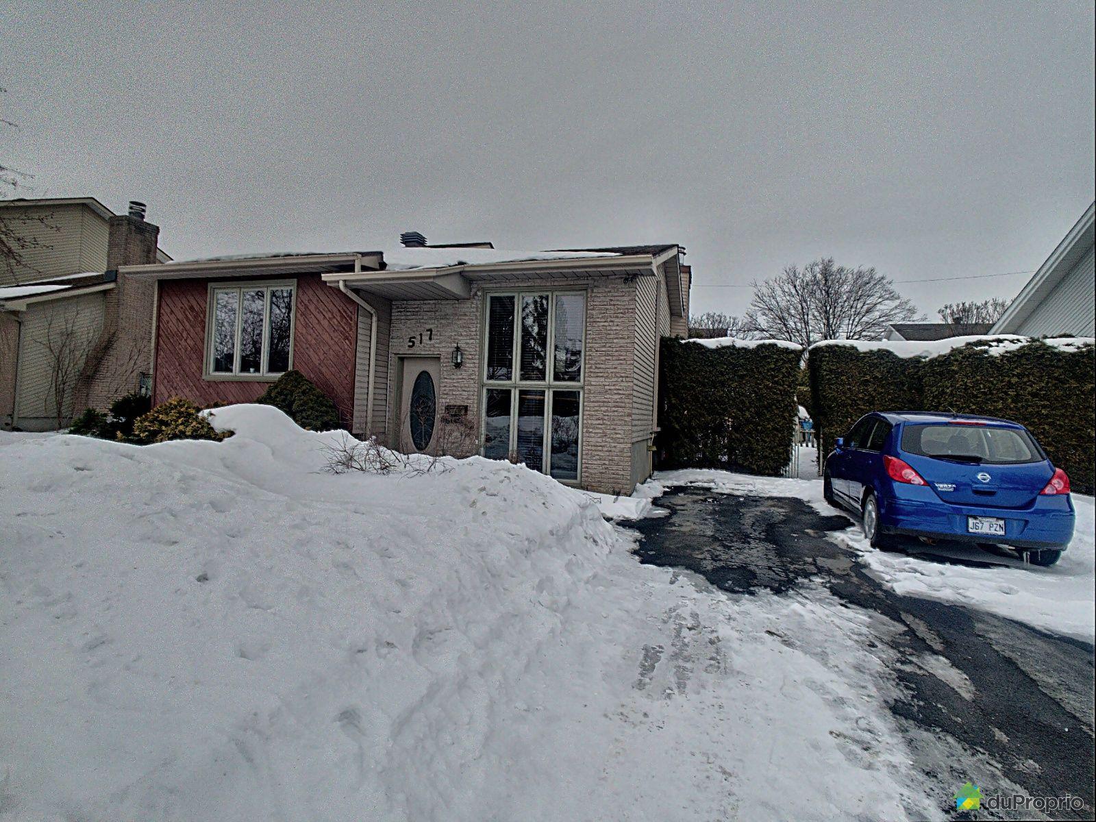 517, rue des Briquetiers, St-Jean-sur-Richelieu (St-Jean-sur-Richelieu) à vendre