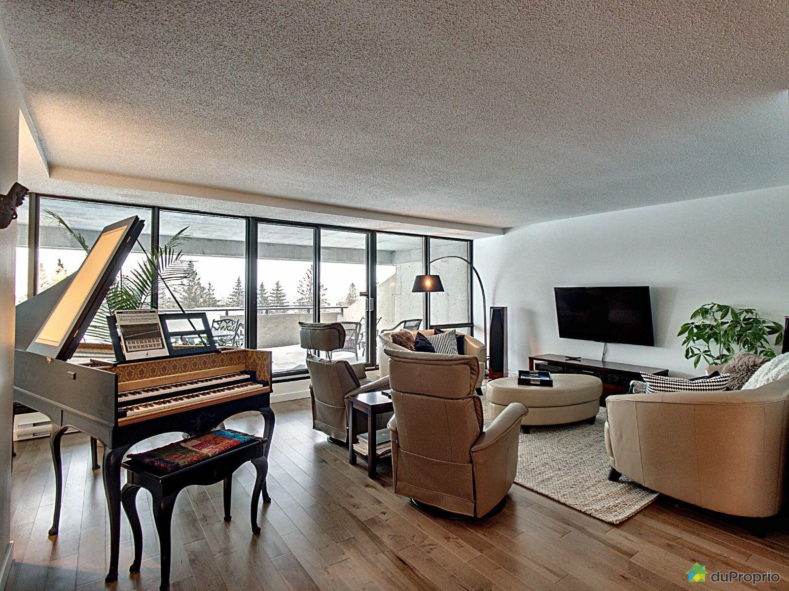 Living Room - 201-10 rue des Jardins-Mérici, Montcalm for sale