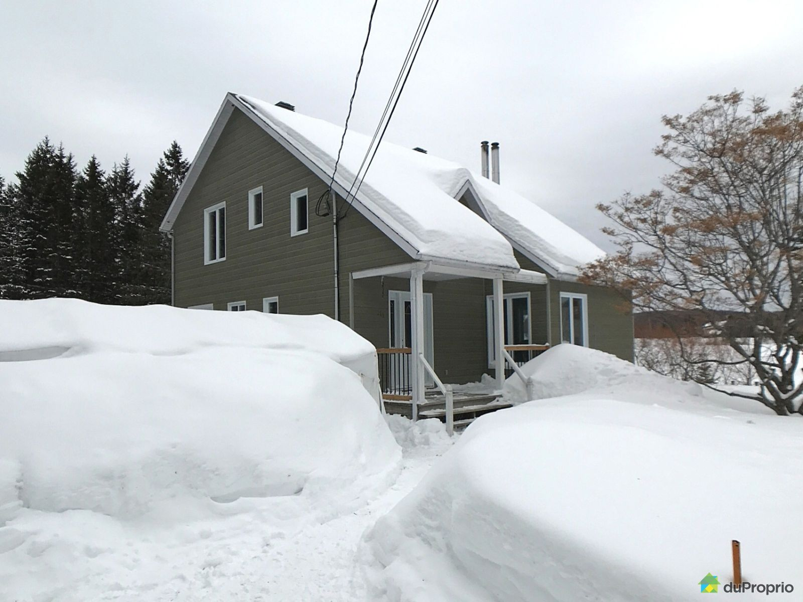 Winter Front - 111 rue Gingras, St-Raymond for sale