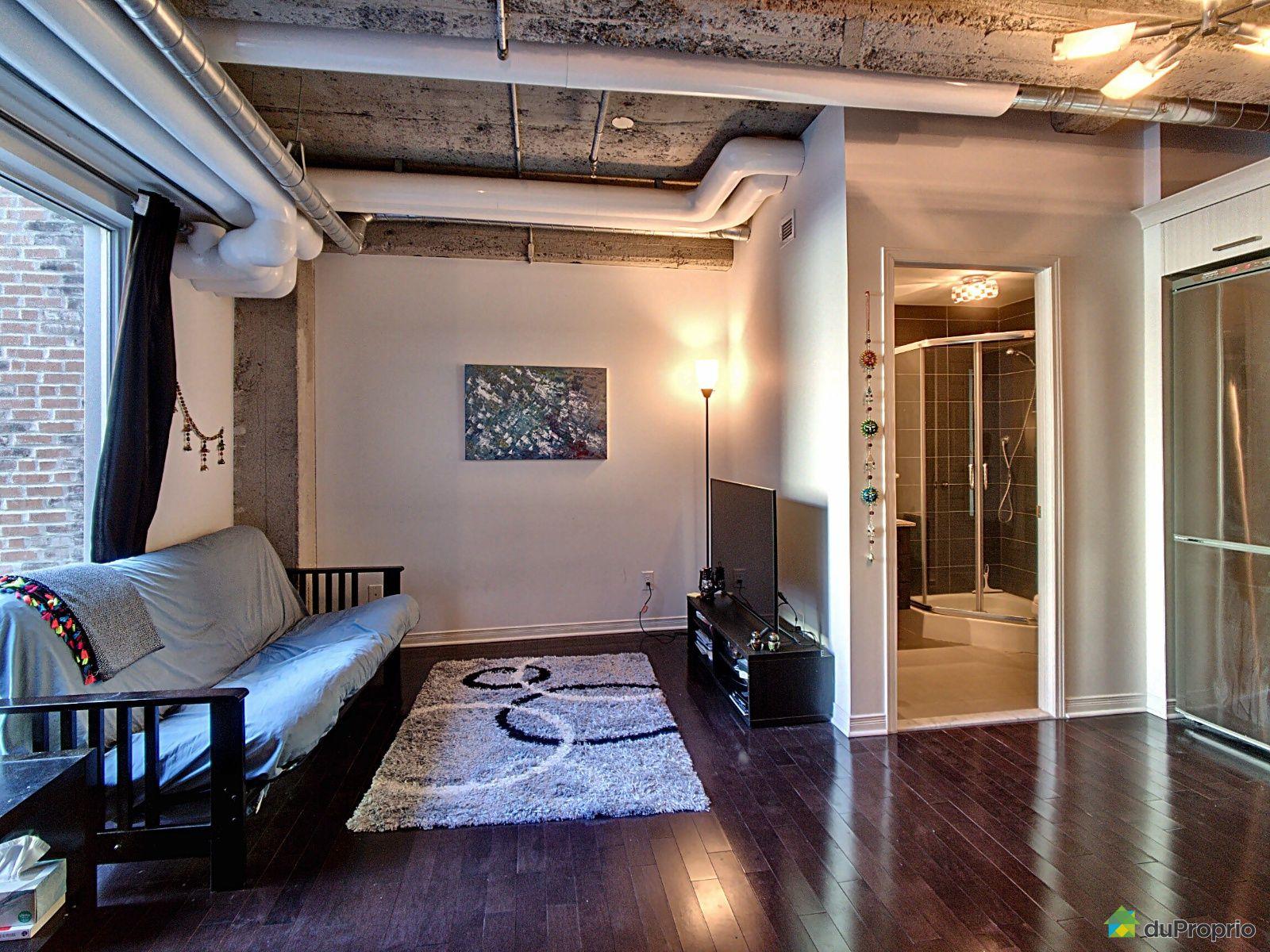 Living Room - 501-366 rue Mayor, Ville-Marie (Centre-Ville et Vieux Mtl) for sale