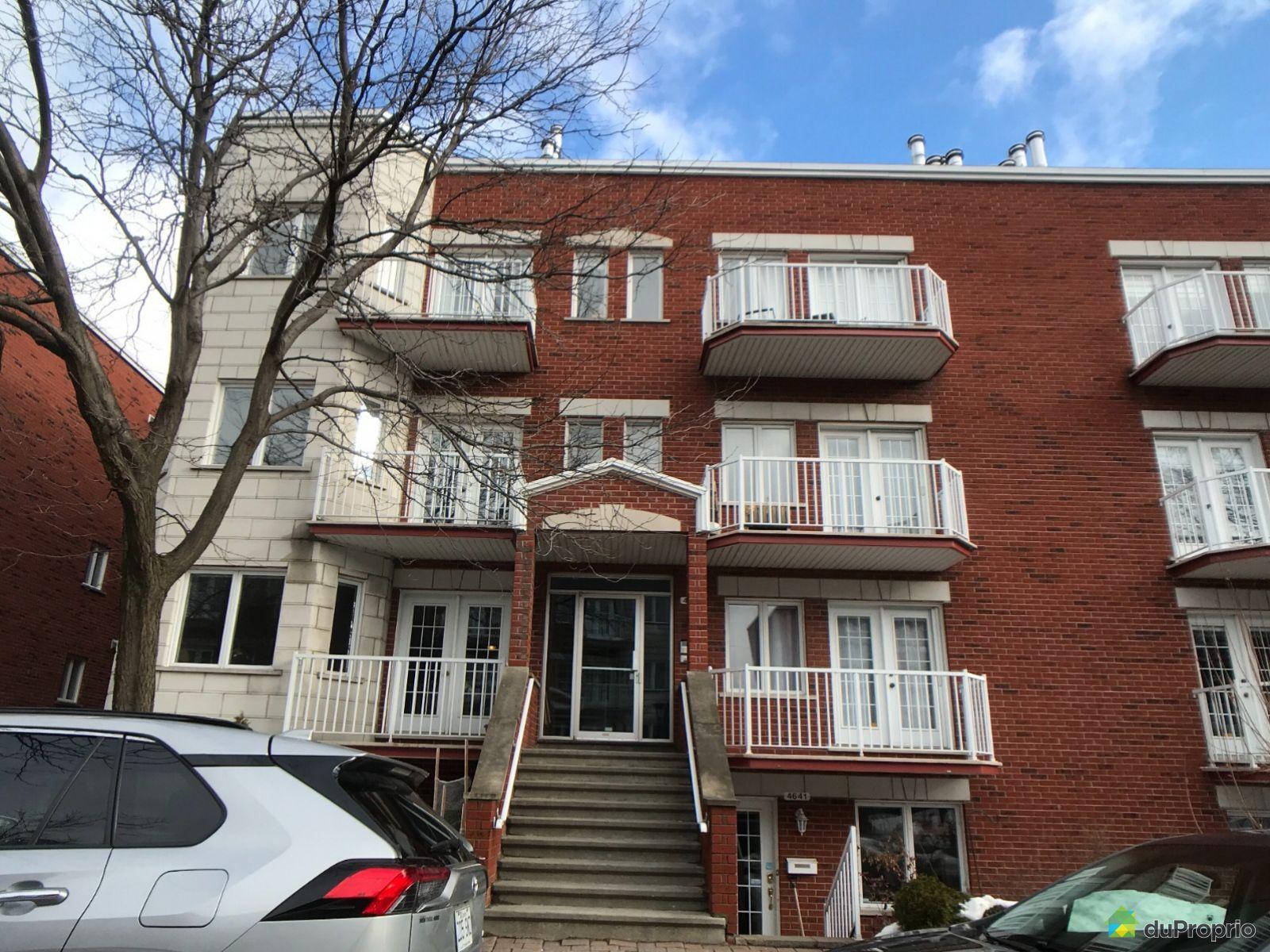 4641, rue de Chambly, Rosemont / La Petite Patrie à vendre