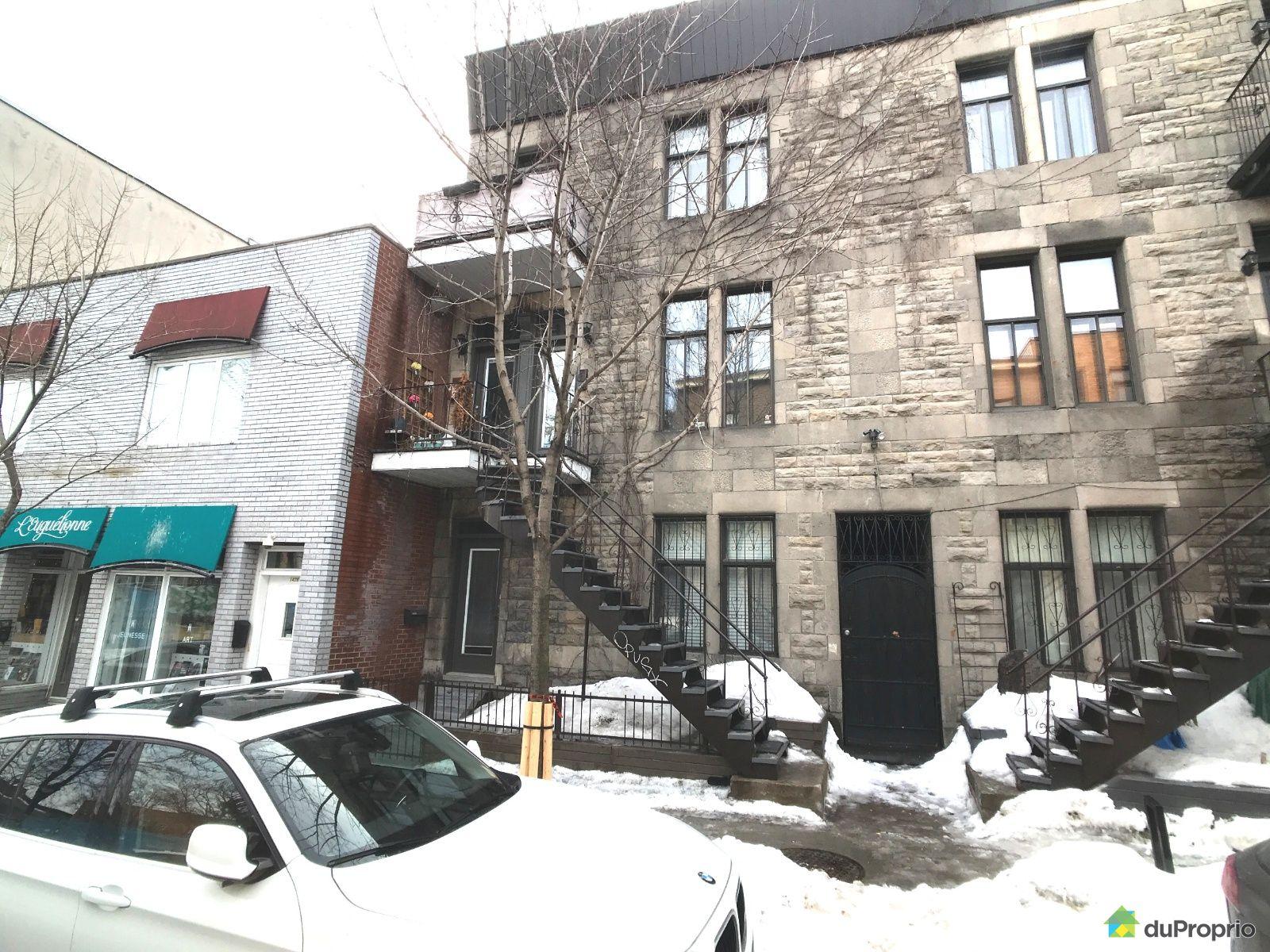 Winter Front - 1434 rue Beaudry, Ville-Marie (Centre-Ville et Vieux Mtl) for sale