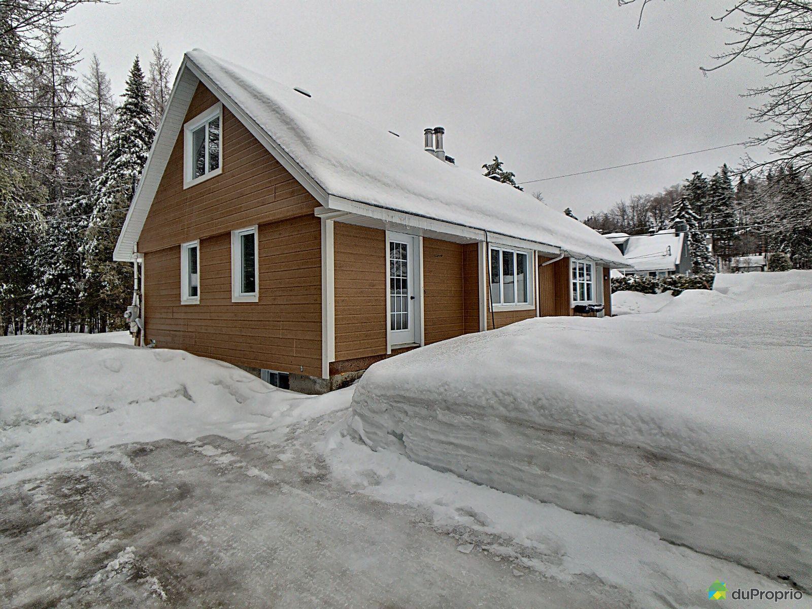 Winter Front - 107 avenue du Verger, Lac-Delage for sale