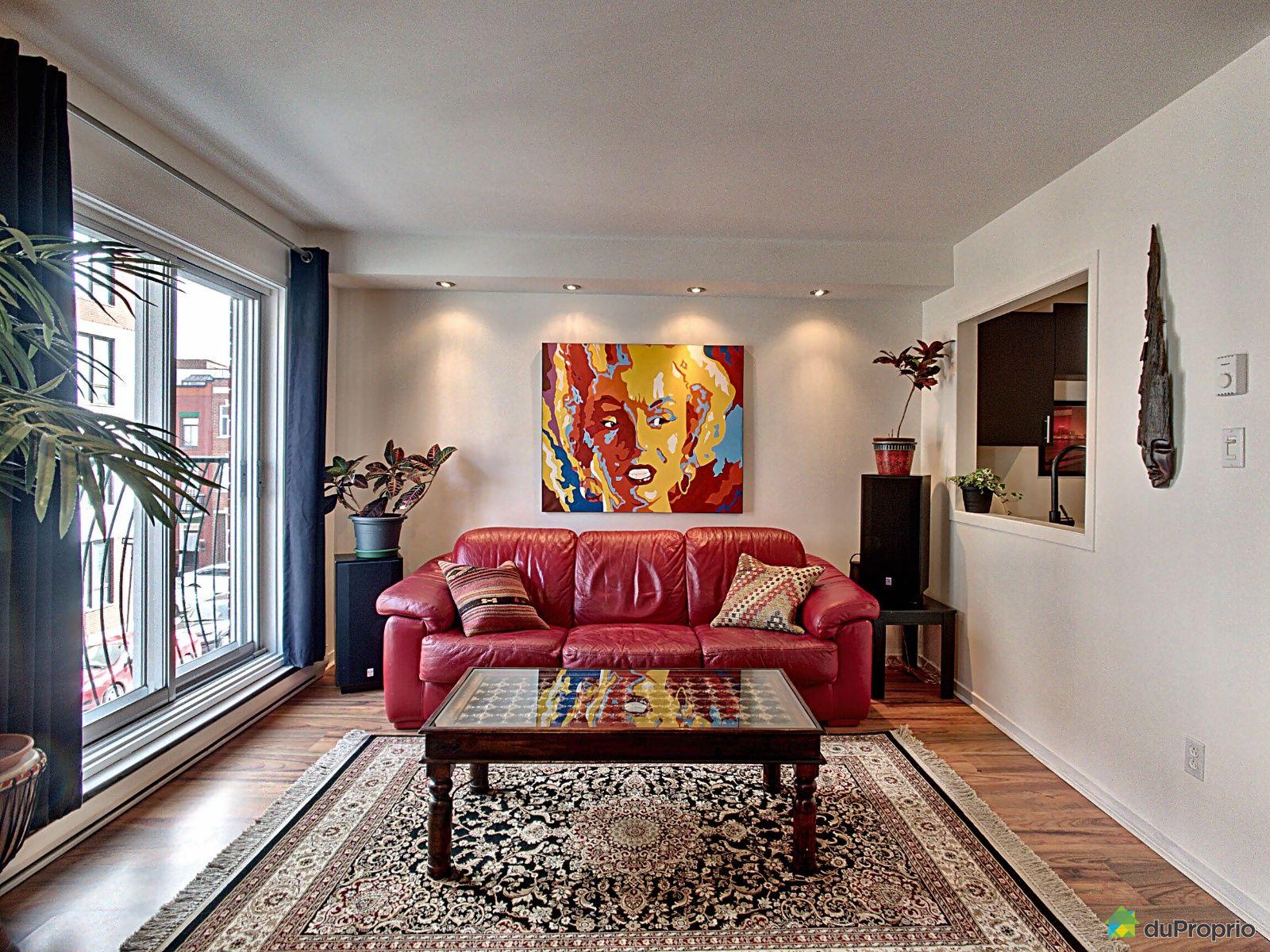 Living Room - 1070 rue Saint-Timothée, Ville-Marie (Centre-Ville et Vieux Mtl) for sale