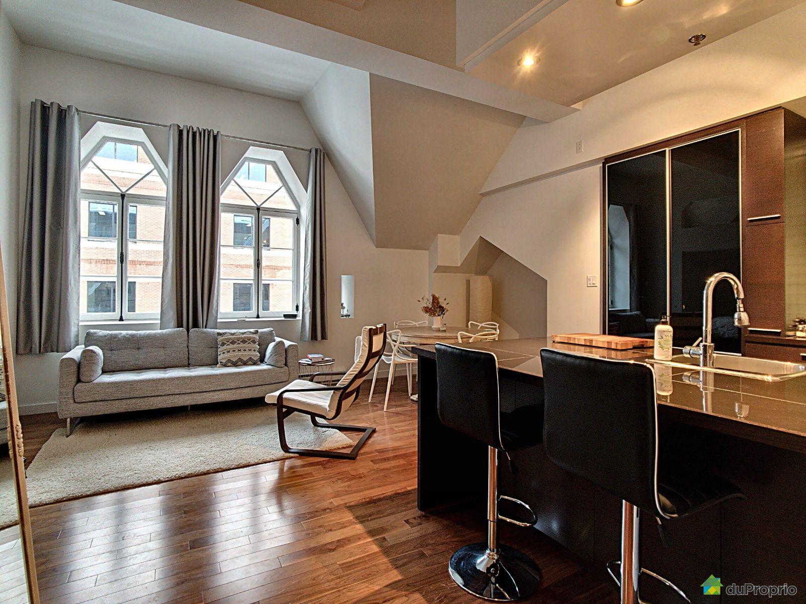 Living Room - 408-545 rue Jacques-Parizeau, Montcalm for sale