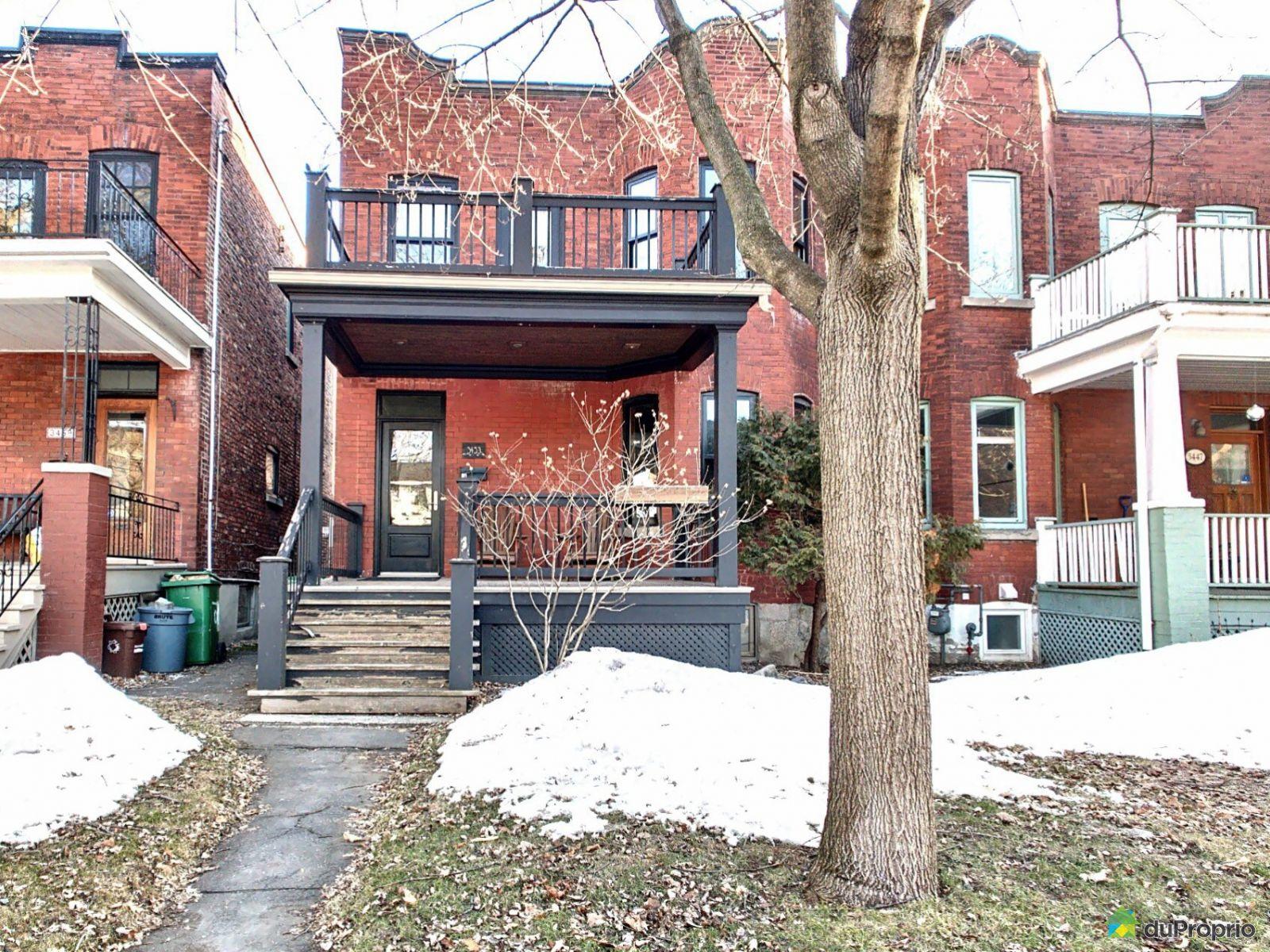 Winter Front - 3453 avenue Hingston, Côte-des-Neiges / Notre-Dame-de-Grâce for sale
