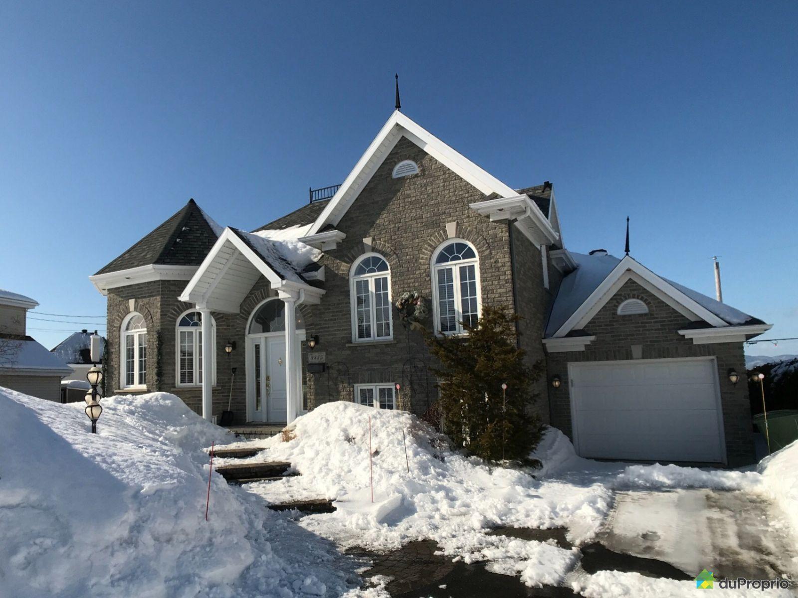Winter Front - 8855 rue des Noisetiers, Lévis for sale
