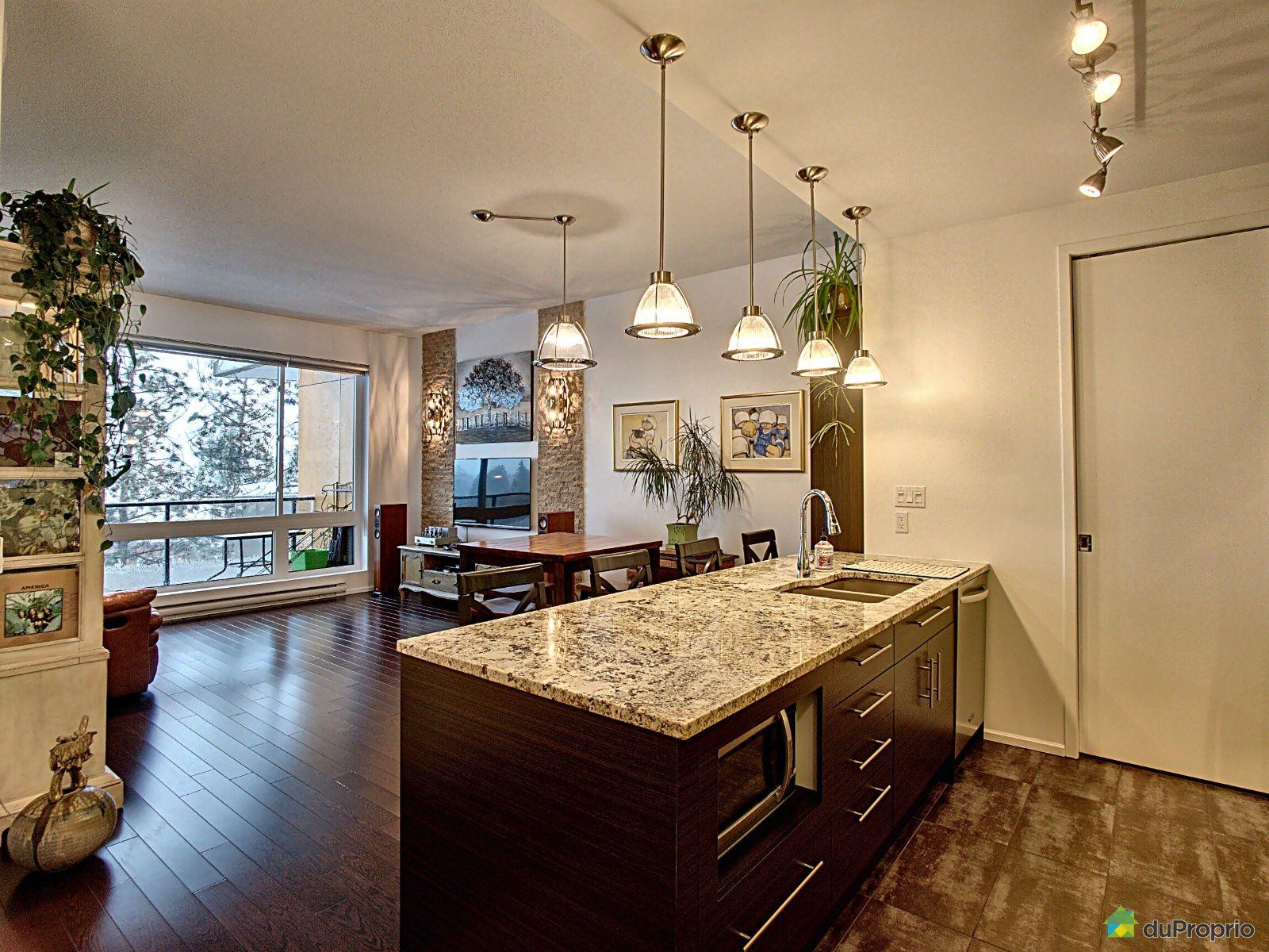 Entrée de l'appartement - 512-1370, avenue du Golf-de-Bélair, Val-Bélair à vendre