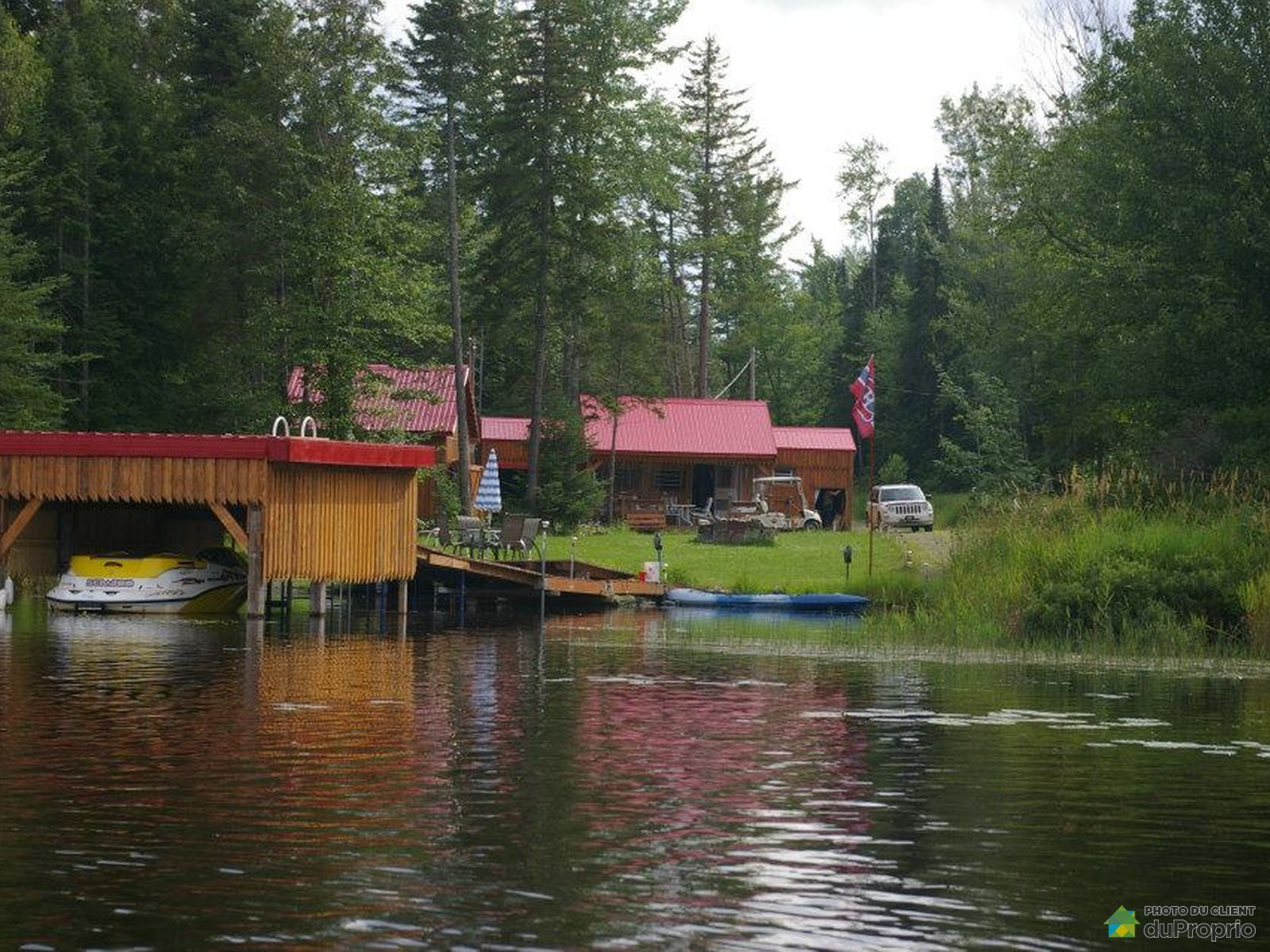 Accès au lac - 8150, chemin Turgeon, Disraeli à vendre