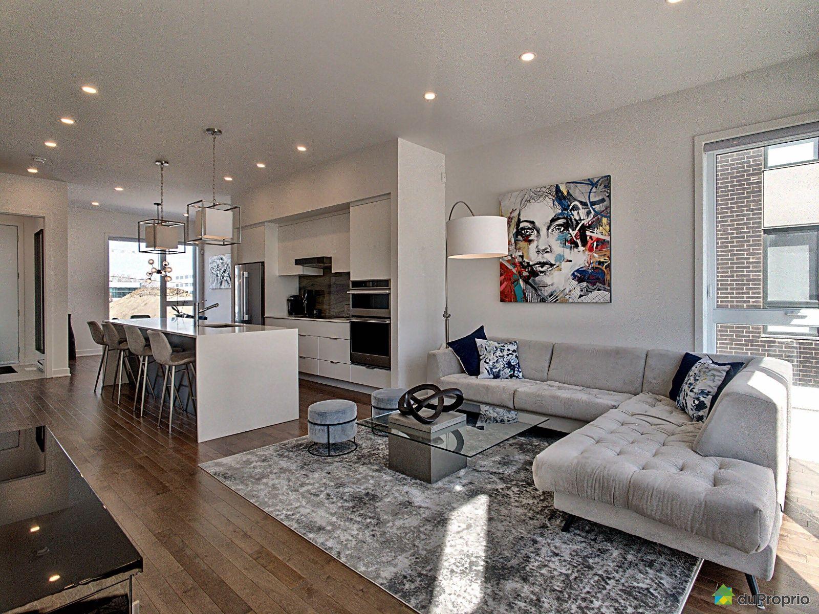 Living Room - 2358 rue des Équinoxes, Saint-Laurent for sale