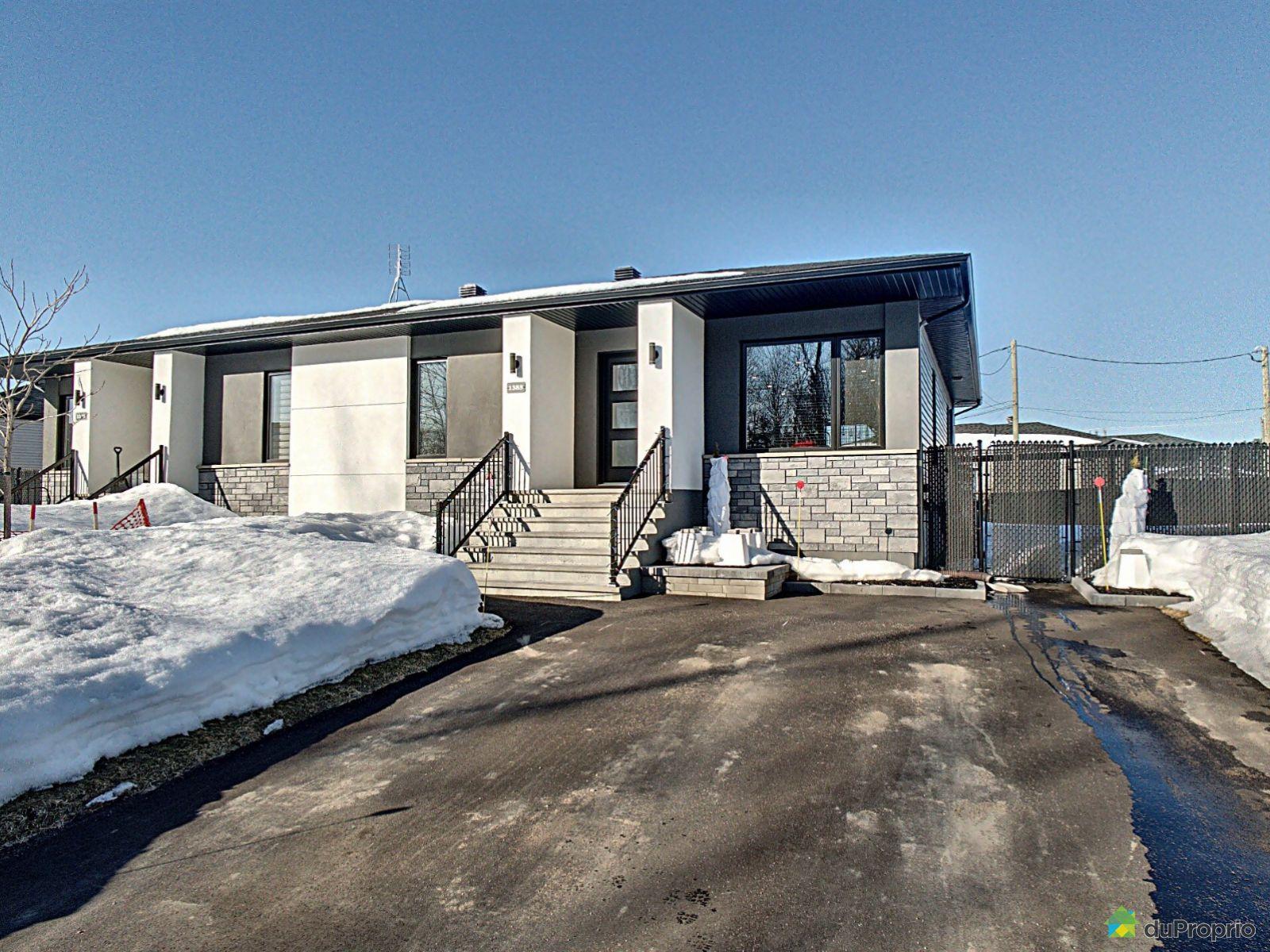 Winter Front - 1385 rue des Cavaliers, Trois-Rivières (Pointe-Du-Lac) for sale