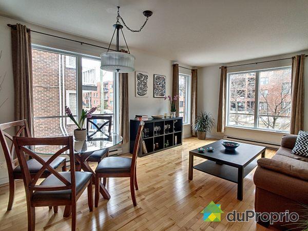 Dining Room / Living Room - 102-7750 rue de Lanaudière, Villeray / St-Michel / Parc-Extension for sale