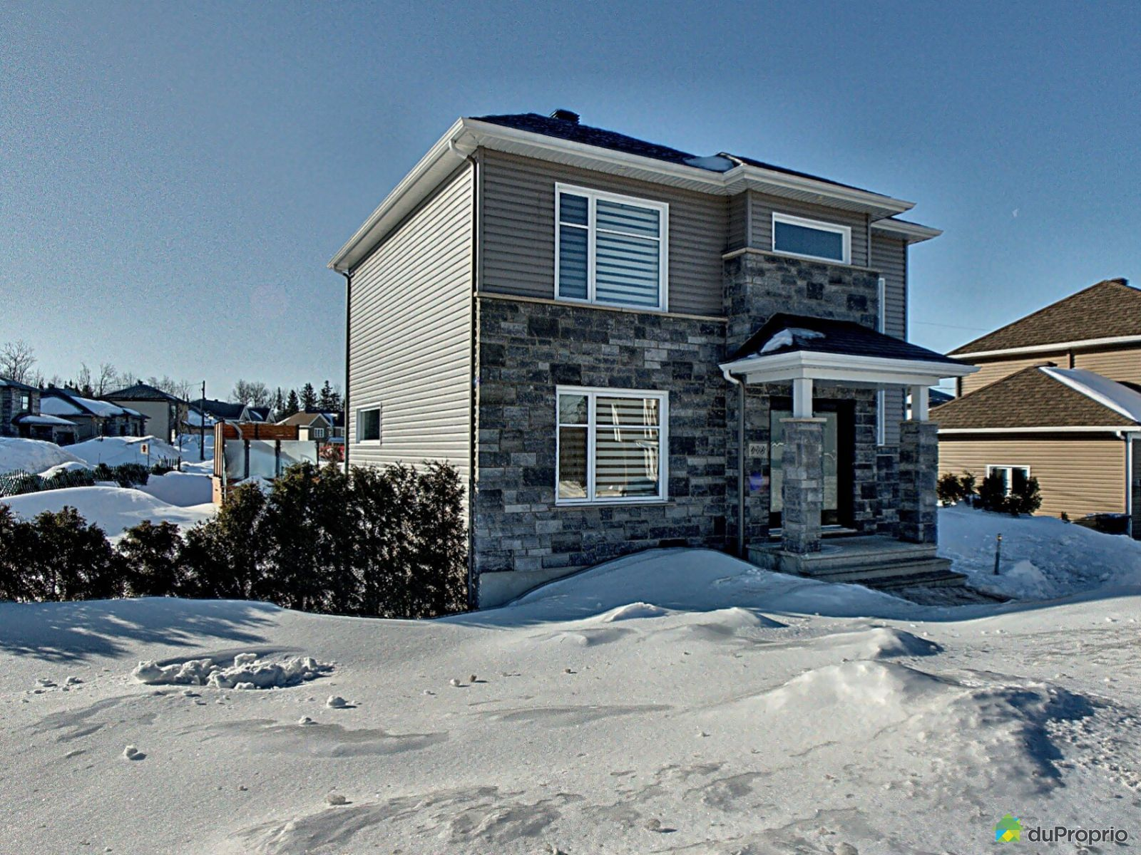Winter Front - 173 rue de la Toundra, Breakeyville for sale