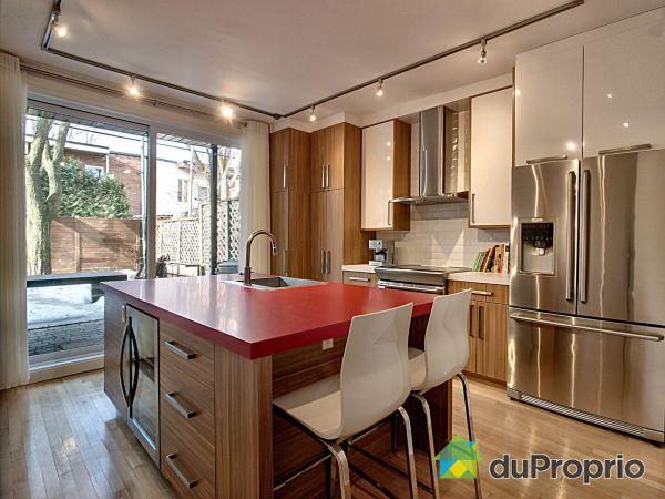 Kitchen - 4626 rue de Bordeaux, Le Plateau-Mont-Royal for sale