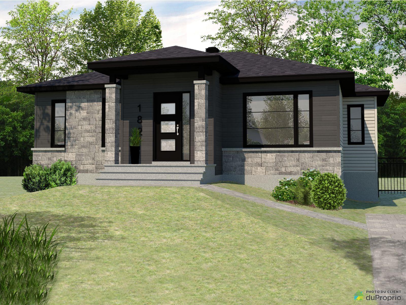 rue Montagnard - À construire - Par Construction Mario Dion inc., St-Raymond à vendre