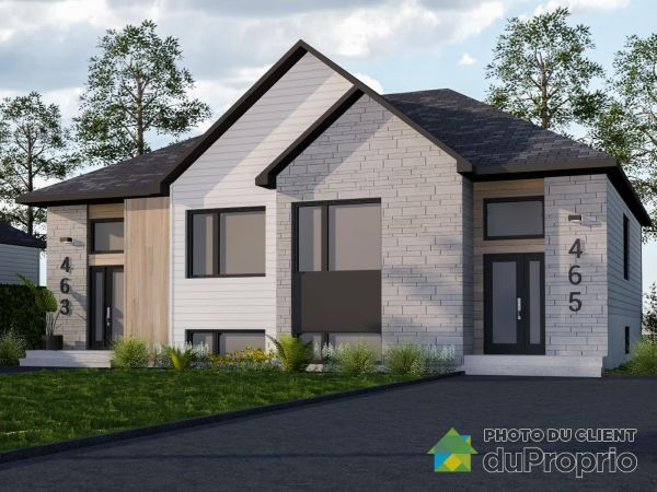 À construire - Par Projets PRB, Montmagny for sale