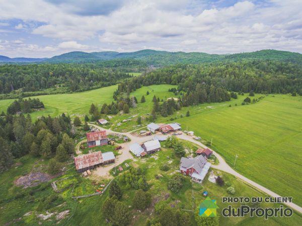 Aerial View - 136 chemin des Cèdres, ND-Du-Laus for sale