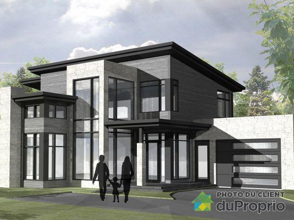 Chemin du Grand-Bois - À CONSTRUIRE -  Par Constructions Première Classe, Lac-Beauport à vendre