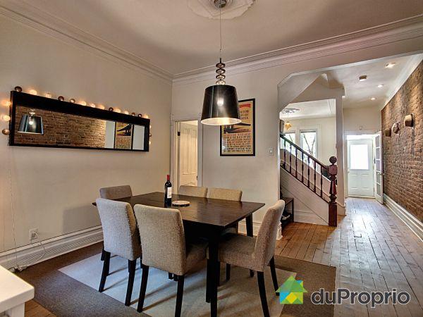 Salle à manger - 4716, rue Berri, Le Plateau-Mont-Royal à vendre