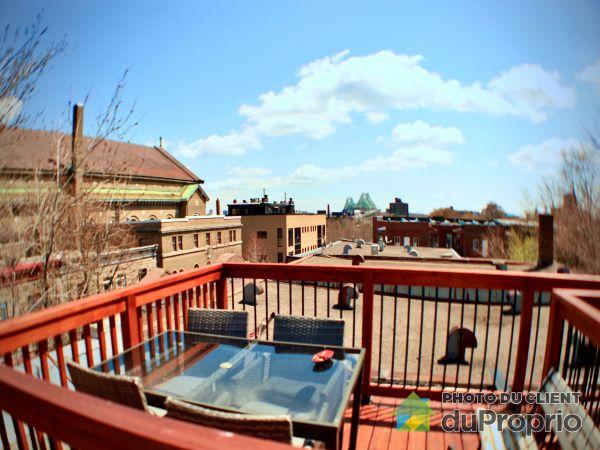 Roof terrace - 2058 rue Dorion, Ville-Marie (Centre-Ville et Vieux Mtl) for sale