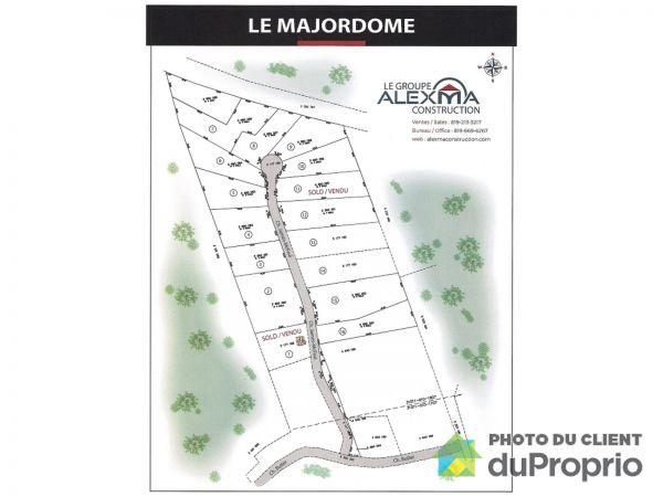 Plan - Projet domiciliaire Le Majordome - Chemin James-McFaul, L'Ange-Gardien-Outaouais à vendre