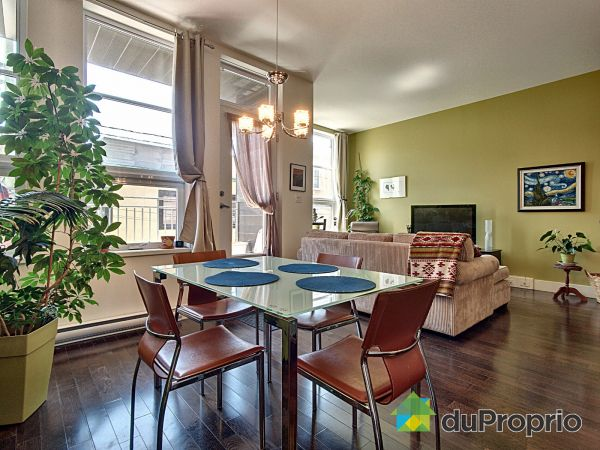 Dining Room / Living Room - 204-99 rue de Saint-Vallier Est, Saint-Roch for sale