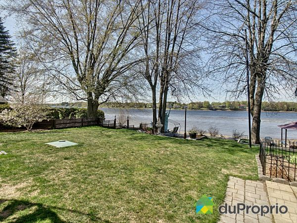 Backyard - 65, rue de l'Arpenteur, Drummondville (St-Nicéphore) for sale