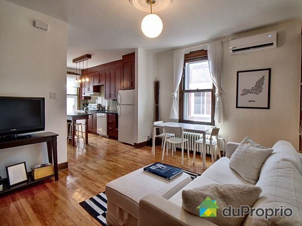 Living / Dining Room - 3528 rue Messier, Le Plateau-Mont-Royal for sale