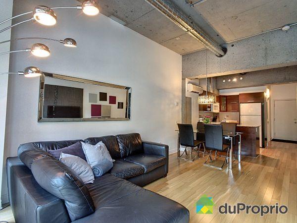Living Room - 231-1200 rue Saint-Alexandre, Ville-Marie (Centre-Ville et Vieux Mtl) for sale
