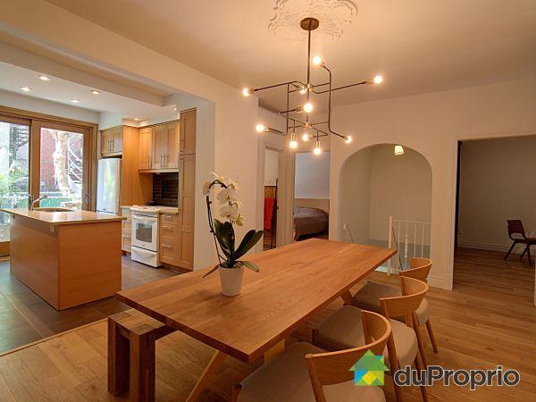 Salle à manger / Cuisine - 7752, rue Berri, Villeray / St-Michel / Parc-Extension à vendre