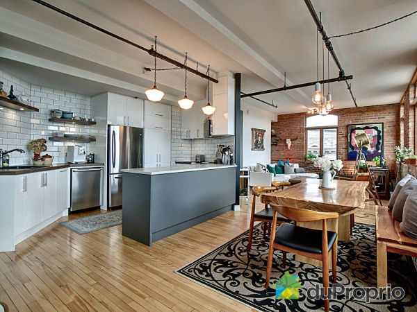 Salle à manger / Cuisine - 501-385, rue de la Chapelle, Saint-Roch à vendre