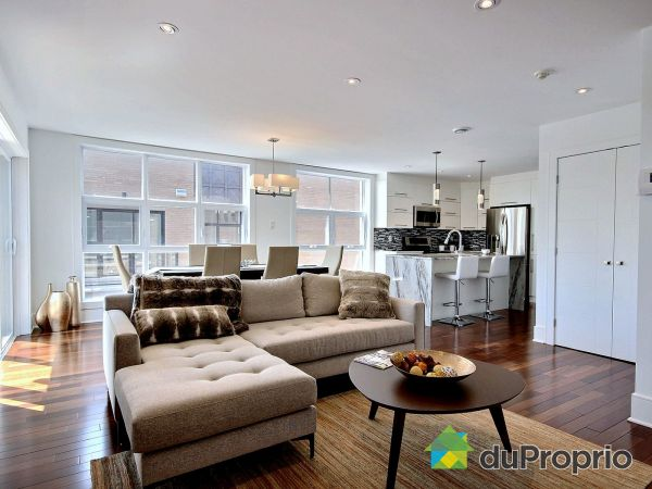 Salon - 302-7881, Rue George - Condos LaVie, LaSalle à vendre