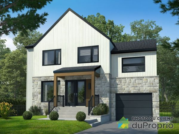 53 111e avenue - Modèle Mont-Blanc - Par Construction Cousineau, St-Hippolyte for sale