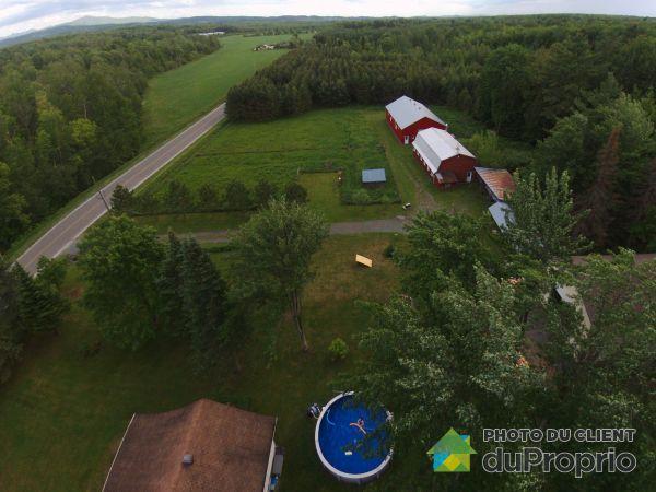 Aerial View - 2886 10e Rang, Dunham for sale